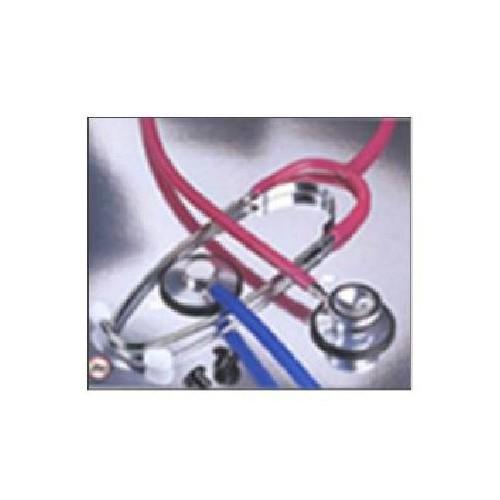 Dual Head Stethoscope Black Tubing