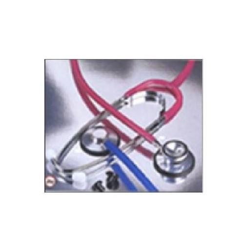Single Head Stethoscope Black Tubing