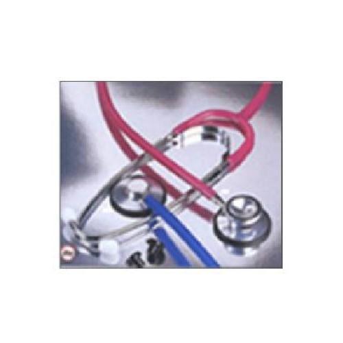 Single Head Stethoscope Red Tubing